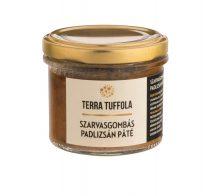 Aubergine and truffle pate
